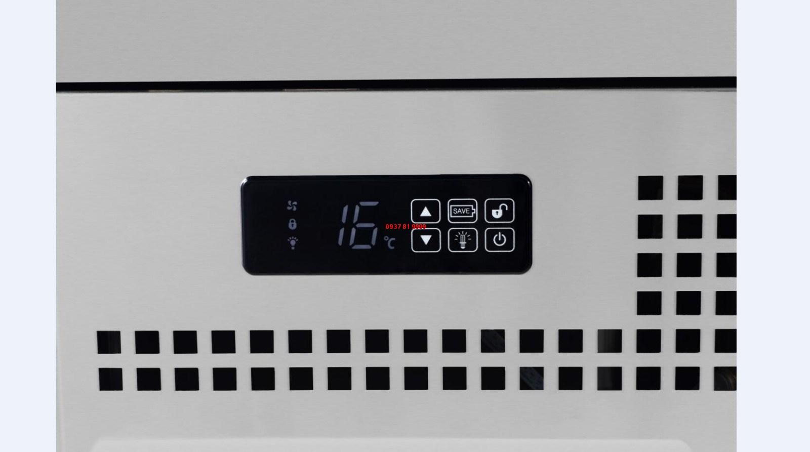 Tủ trưng bày bánh 1 tầng Turbo Air TBP900-1 - ảnh 4