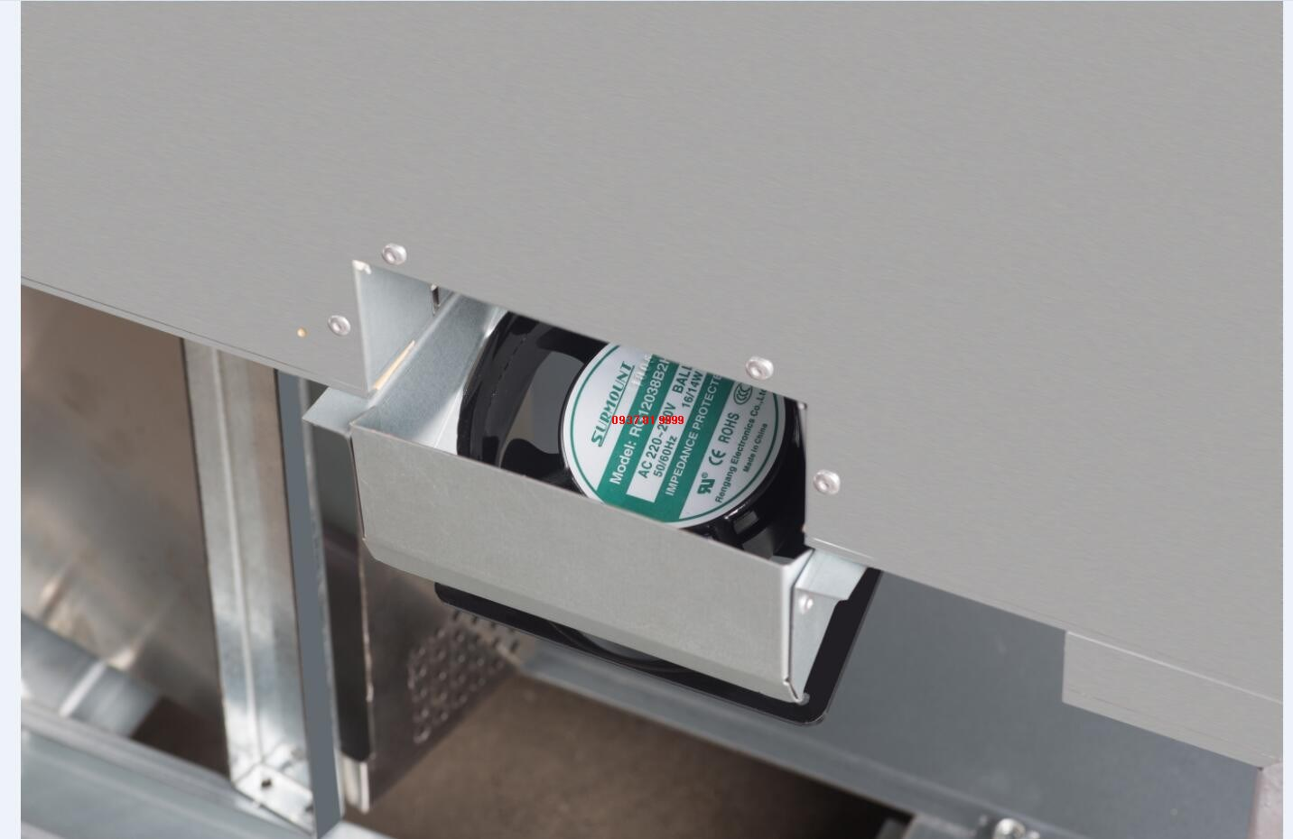 Tủ trưng bày bánh 1 tầng Turbo Air TBP1200-1 - ảnh 4